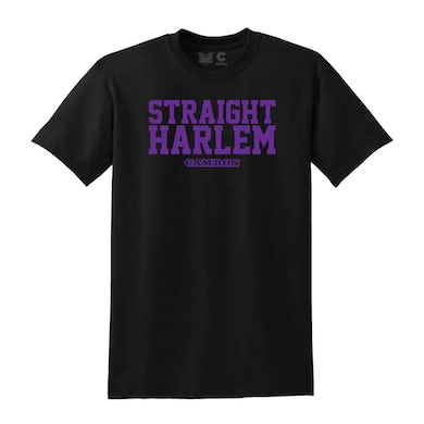 Cam'Ron Straight Harlem Tee in Black + Digital Album Download