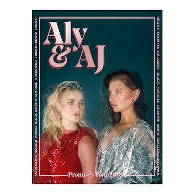 Aly & AJ PROMISES TOUR POSTER