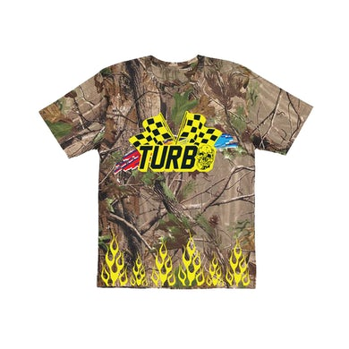 Turbo Racer Flags Tee