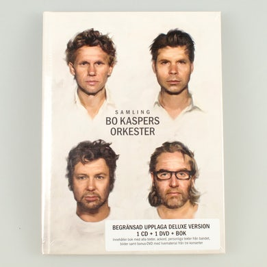 Bo Kaspers Orkester BKO - Samling - CD+DVD+BOK