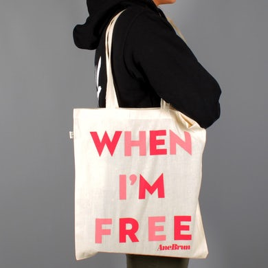 When I'm Free Tote Natural