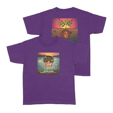 August Alsina Emerge & See Purple Short Sleeve + Download