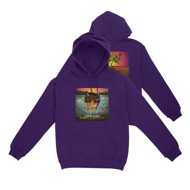 August Alsina Emerge & See Purple Hoodie + Download