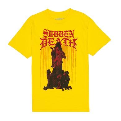 """SVDDEN DEATH """"CULT"""" T-Shirt Yellow"""