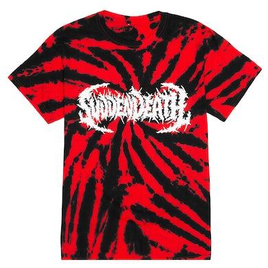 """SVDDEN DEATH """"TIE-DIE"""" T-Shirt"""