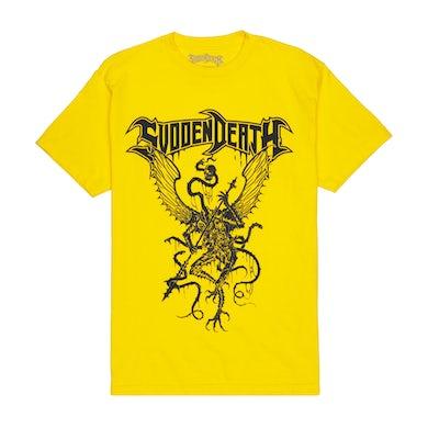 """SVDDEN DEATH """"Archdemon"""" T-Shirt in Yellow."""