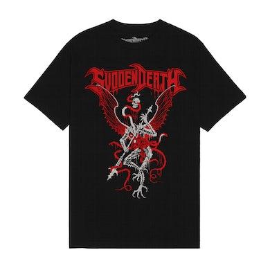 """SVDDEN DEATH """"Archdemon"""" T-Shirt in Black."""