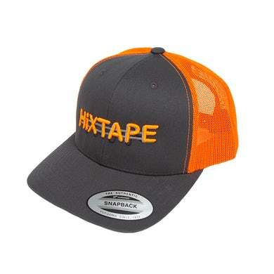 HiXTAPE Neon Orange Trucker Hat