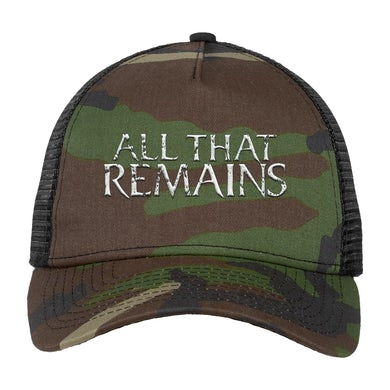 All That Remains Camo Trucker Hat