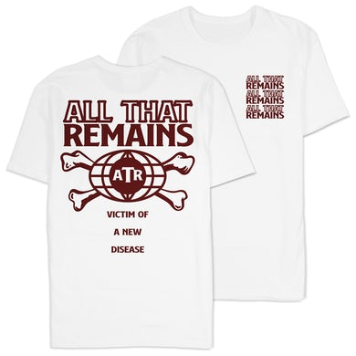 """All That Remains """"Victim Of The New Disease"""" Shirt"""