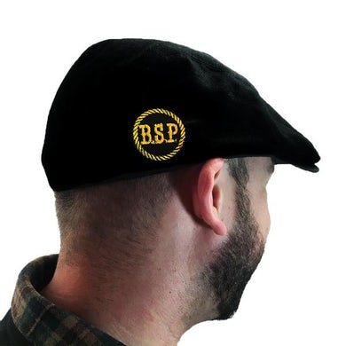 The The Barstool Preachers - BSP Stencil - Black - Embroidered - Scally Cap