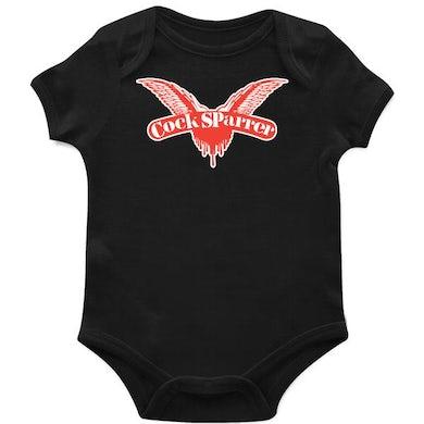 Cock Sparrer - Wings - Black - Onesie