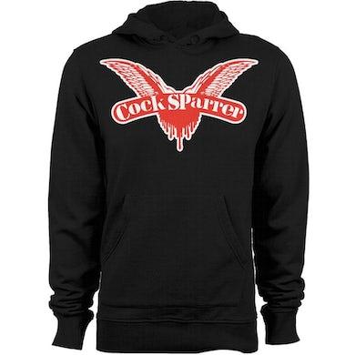 Cock Sparrer- Wings - Pullover Hoodie - Black