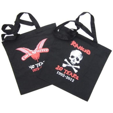Cock Sparrer & Rancid - Doublesided Black - Tote