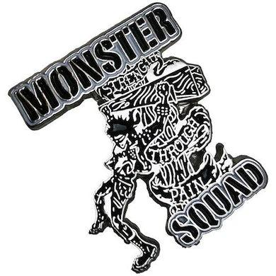 "Monster Squad - Strength Through Pain - 1.25"" Enamel Pin"