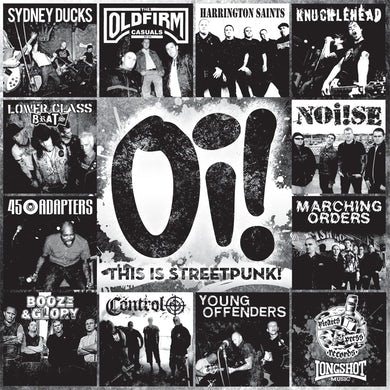 "45 Adapters Oi! This is Streetpunk! Vol. 1 - 11"" LP (Vinyl)"