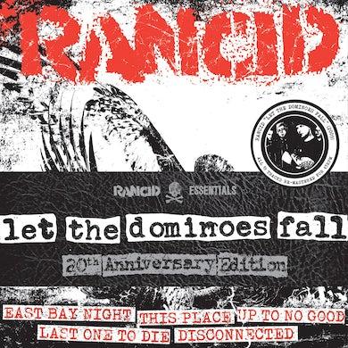 "Rancid - Let The Dominoes Fall 8x7"""