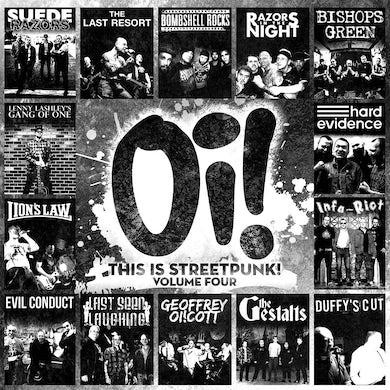 Oi! This Is Streetpunk! Vol 4 - LP (Vinyl)