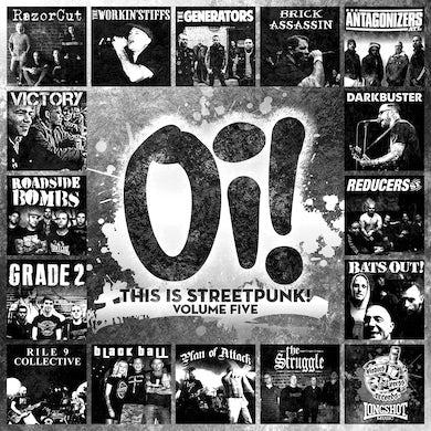 Antagonizers ATL Oi! This is Streetpunk! Vol 5 - LP (Vinyl)