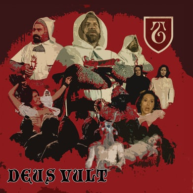The Templars - Deus Vult LP (Vinyl)