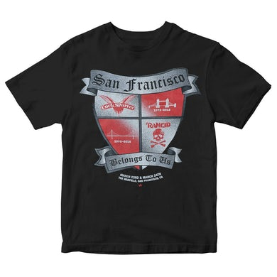 Cock Sparrer SF Belongs to Us - T-Shirt - Youth