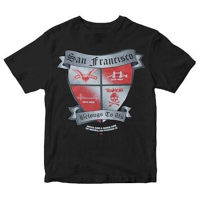 Cock Sparrer SF Belongs to Us - Black - T-Shirt