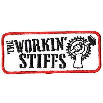"""Workin Stiffs - Logo - Patch - Embroidered - 5 1/4"""" x 2 1/4"""""""