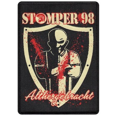 """Stomper 98 - Althergebracht - Patch - Woven - 4"""" x 2.75"""
