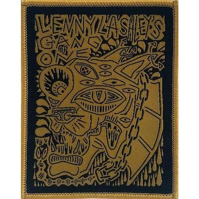 "Lenny Lashley's Gang of One Lenny Lashley Gang of One - Woodcut - Patch - Woven - 3"" x 3 3/4"""
