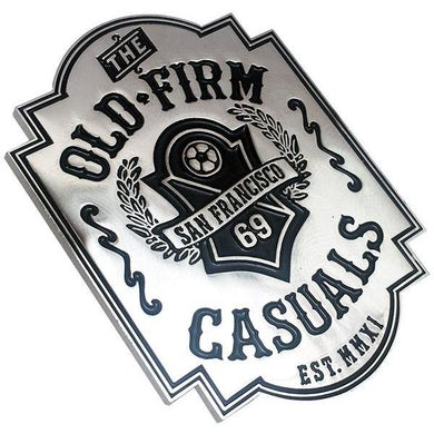 "The Old Firm Casuals - Soccer Crest - 2"" Enamel Pin"