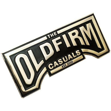 "The Old Firm Casuals - Logo - Gold - 2"" Enamel Pin"