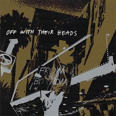 Off With Their Heads - From The Bottom LP - Milky Clear/Glow In The Dark Blue (Vinyl)