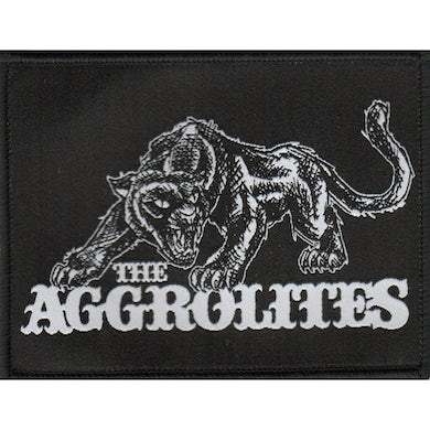 """The Aggrolites - Aggropanther - Woven Patch 4""""x3"""""""