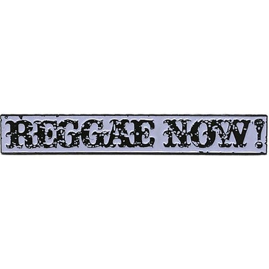 """The Aggrolites - Reggae Now! Text - 2.5"""" Enamel Pin"""