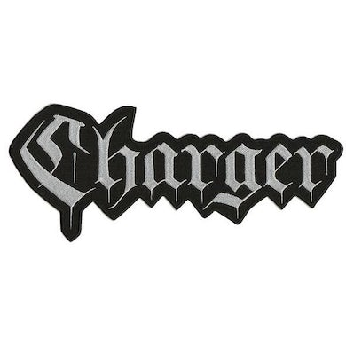 """Charger - Text Logo - 12"""" x 4"""" Embroidered Patch"""