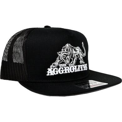 The Aggrolites - Aggropanther - Black w/ Black Mesh - Otto Snapback Hat