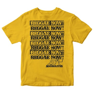 Reggae Now! w/ Small Panther - Mustard - T-Shirt