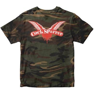 Cock Sparrer - Wings - Camo - T-Shirt
