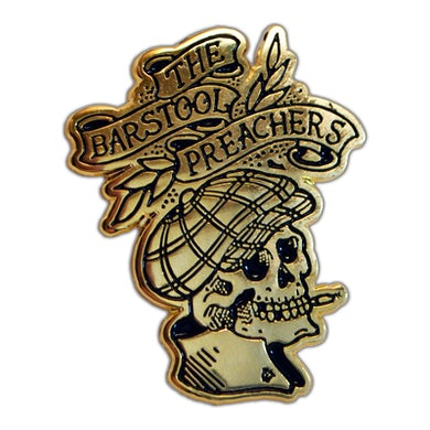 "The The Barstool Preachers - Skull Logo - 1.5"" Enamel Pin"