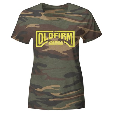The Old Firm Casuals - Logo - Camo - T-Shirt - Fitted