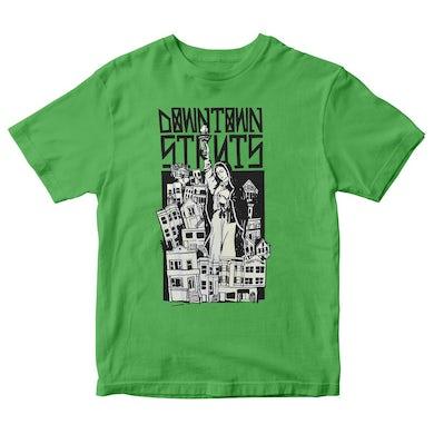 Downtown Struts - Victoria Tour - Green - T-Shirt