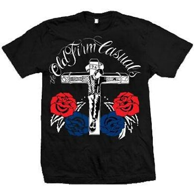 The Old Firm Casuals - Crucified - Red & Blue Roses - T-Shirt