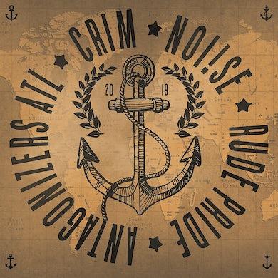 "4 Way Split - Crim, Antagonizers ATL, Noi!se, Rude Pride 7"" (Vinyl)"