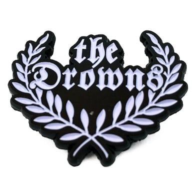 "The Drowns - Wreath Logo - 1.5"" Enamel Pin"