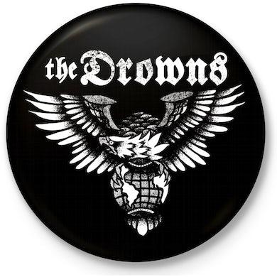 """The Drowns - Eagle Logo - 1"""" Button"""