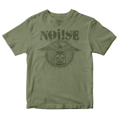 NOi!SE - Skull Eagle Logo - Green - T-Shirt