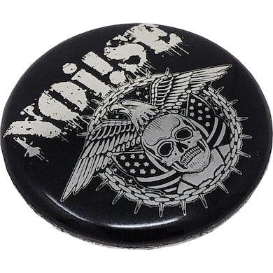 "NOi!SE - Skull Eagle Logo - 1"" Button"