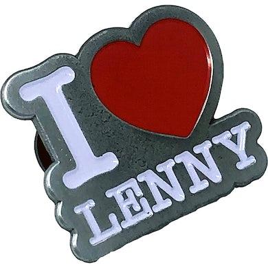 "Lenny Lashley's Gang of One Lenny Lashley Gang of One - I Love Lenny - 1.25"" Enamel Pin"