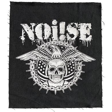 NOi!SE - Skull Eagle Logo - Back Patch