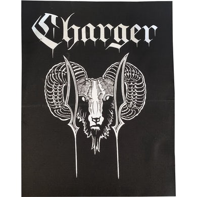 Charger - Ram - Black - Back Patch